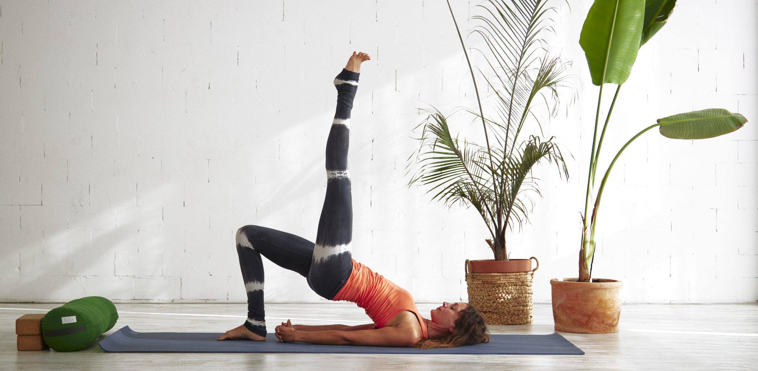 Thuis yoga doen