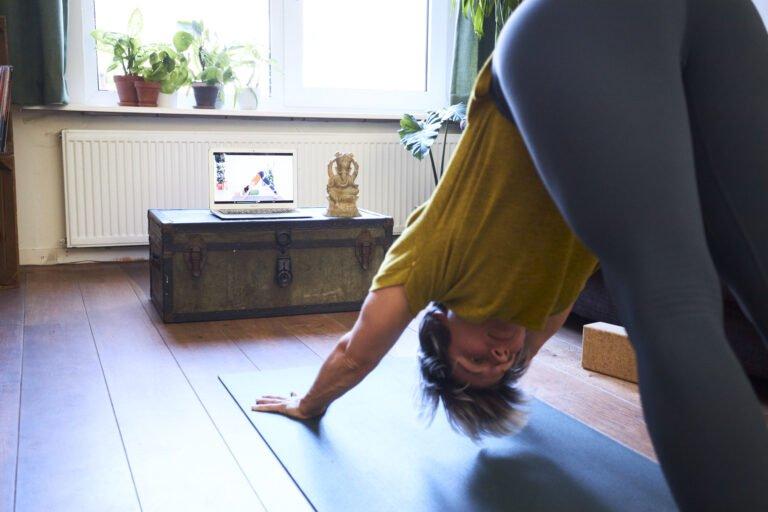 Het starten van een yoga routine